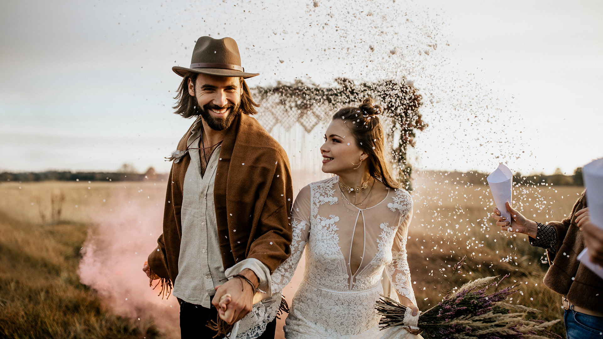hippie indie wedding elopement photographer europe