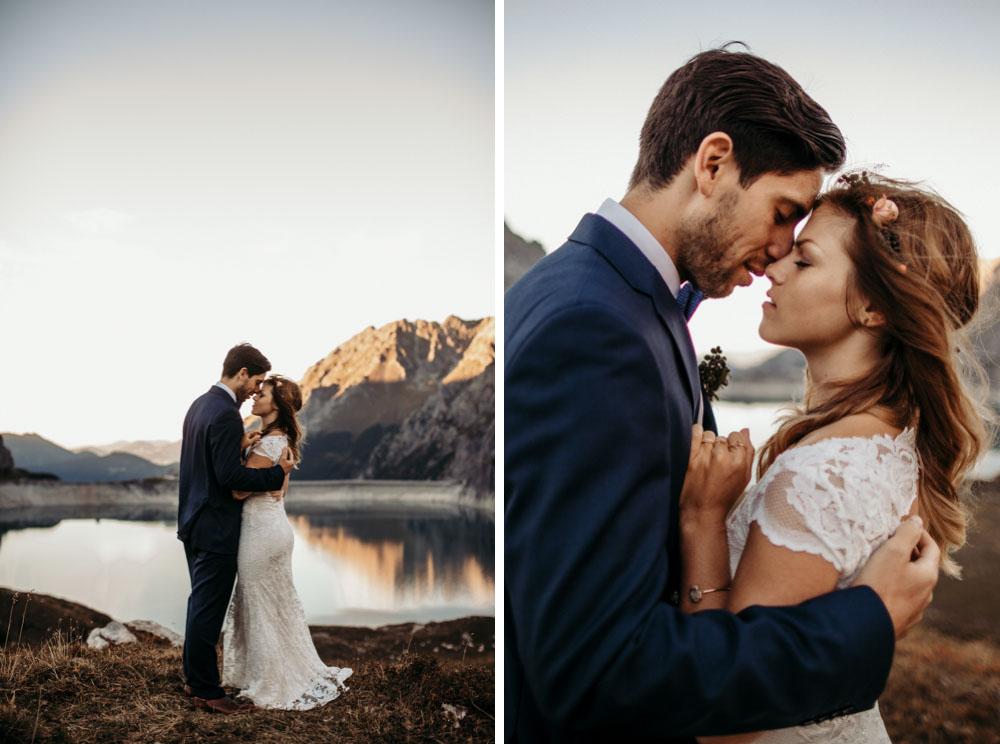 After Wedding Mountain Shoot Austria Europe