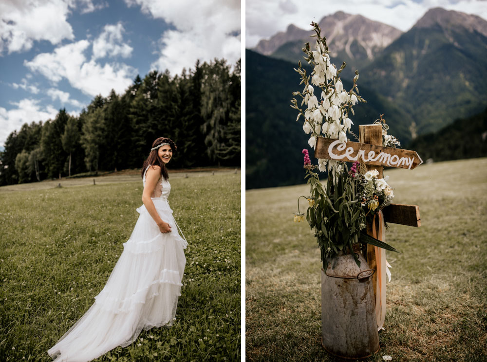 Forest Wedding Boho Hippie