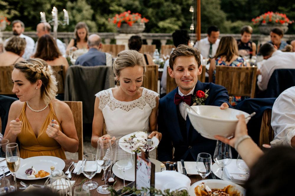 Sommer Garten Hochzeit