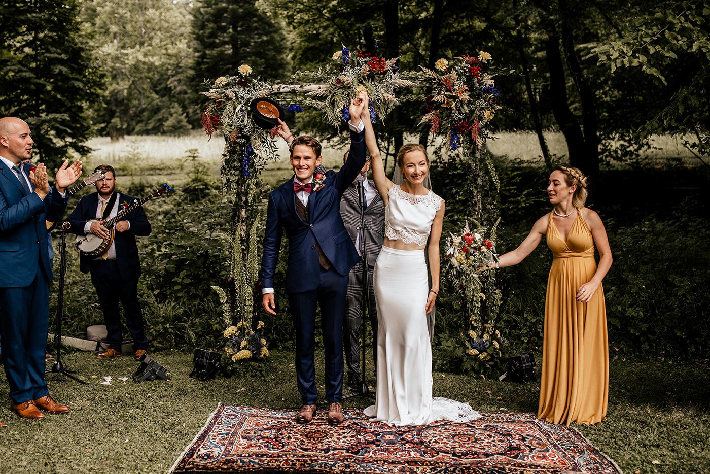 Summertime Outdoor Wedding