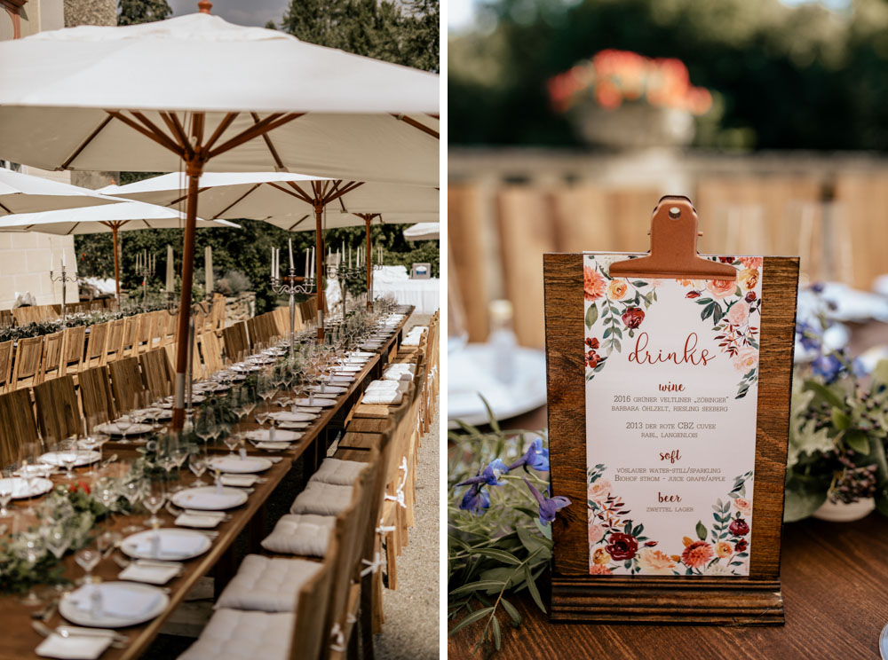 Summertime Garden Wedding