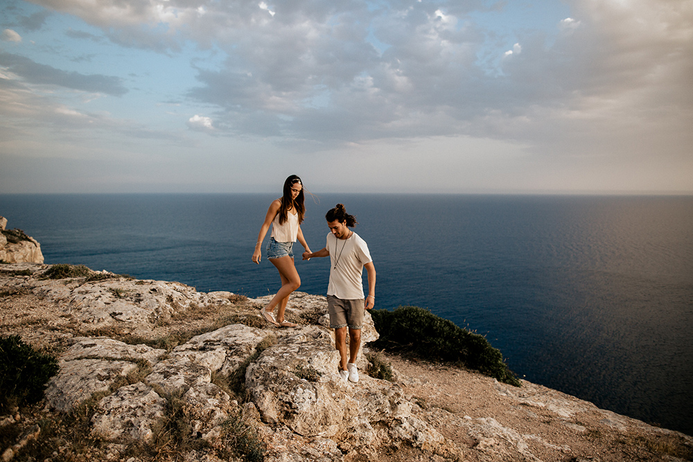 couple shoot mallorca