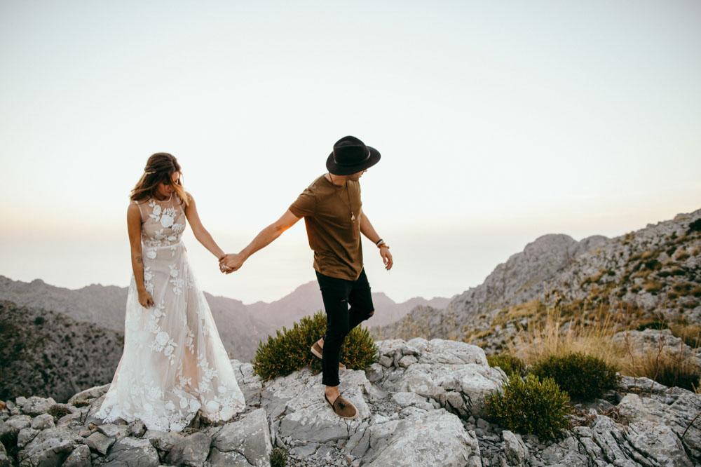 indie hippie Hochzeit Mallorca Fotograf 30