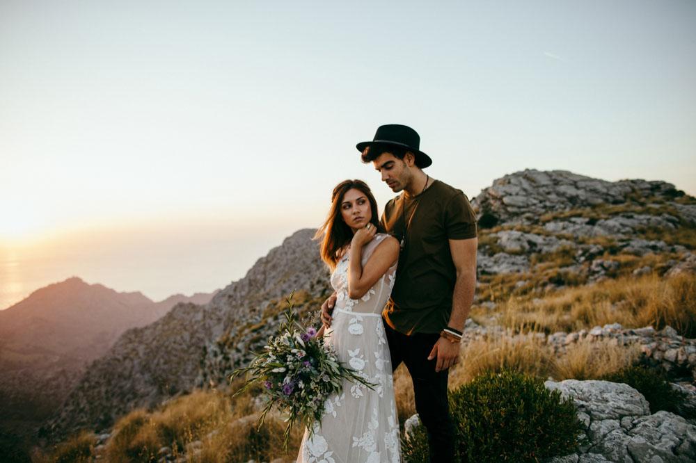 indie hippie Hochzeit Mallorca Fotograf 31