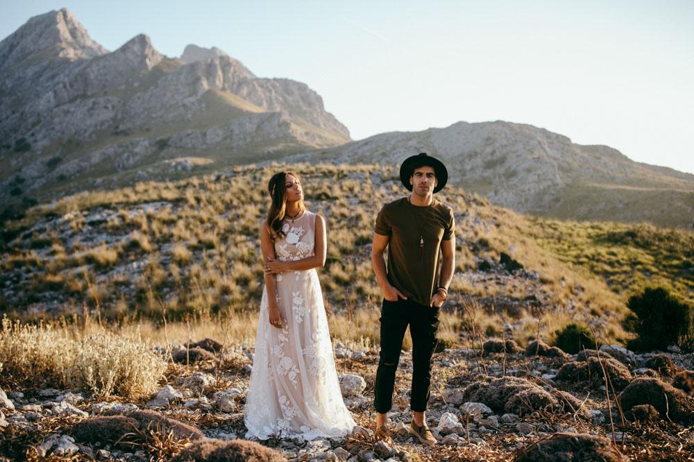 indie hippie Hochzeit Mallorca Fotograf 41