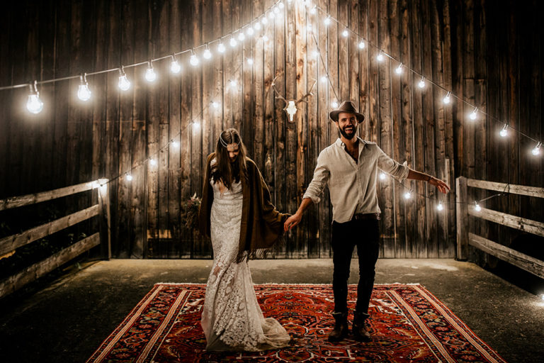 Barn Indie Wedding