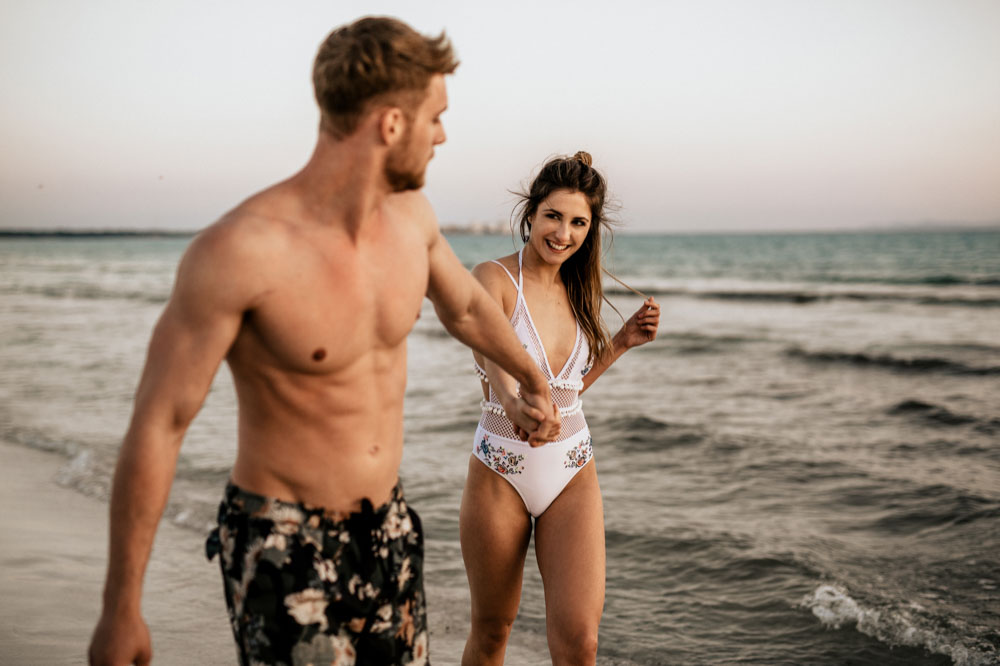 Beach Couple Shoot