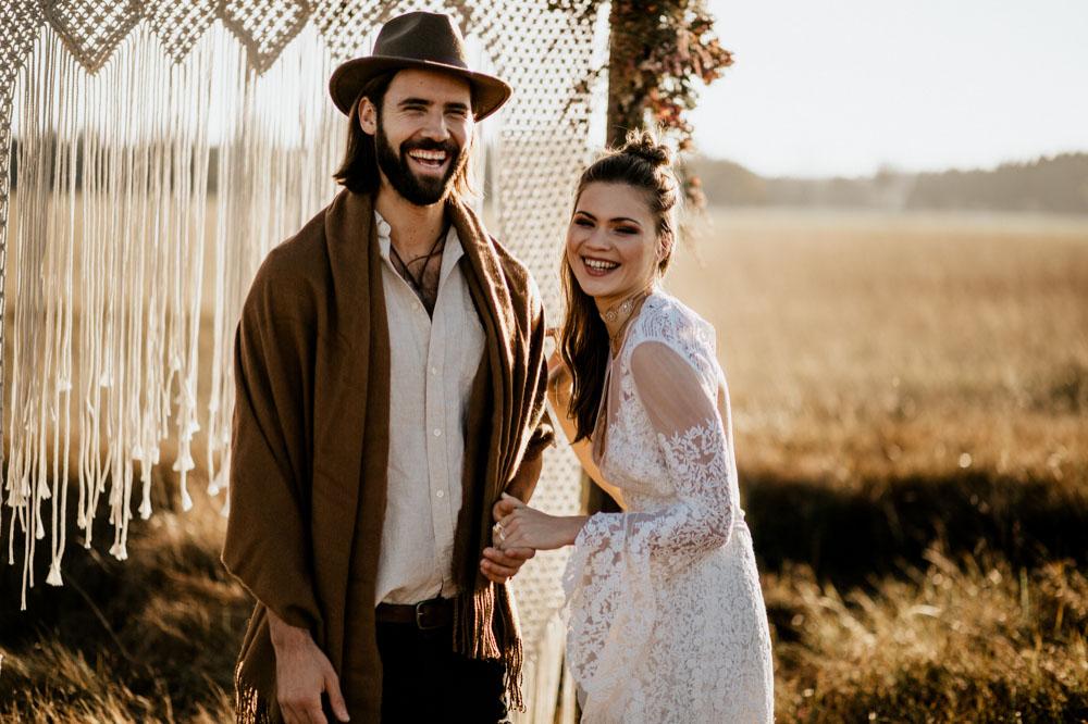 Gypsy Scheunenhochzeit Indie wedding inspiration