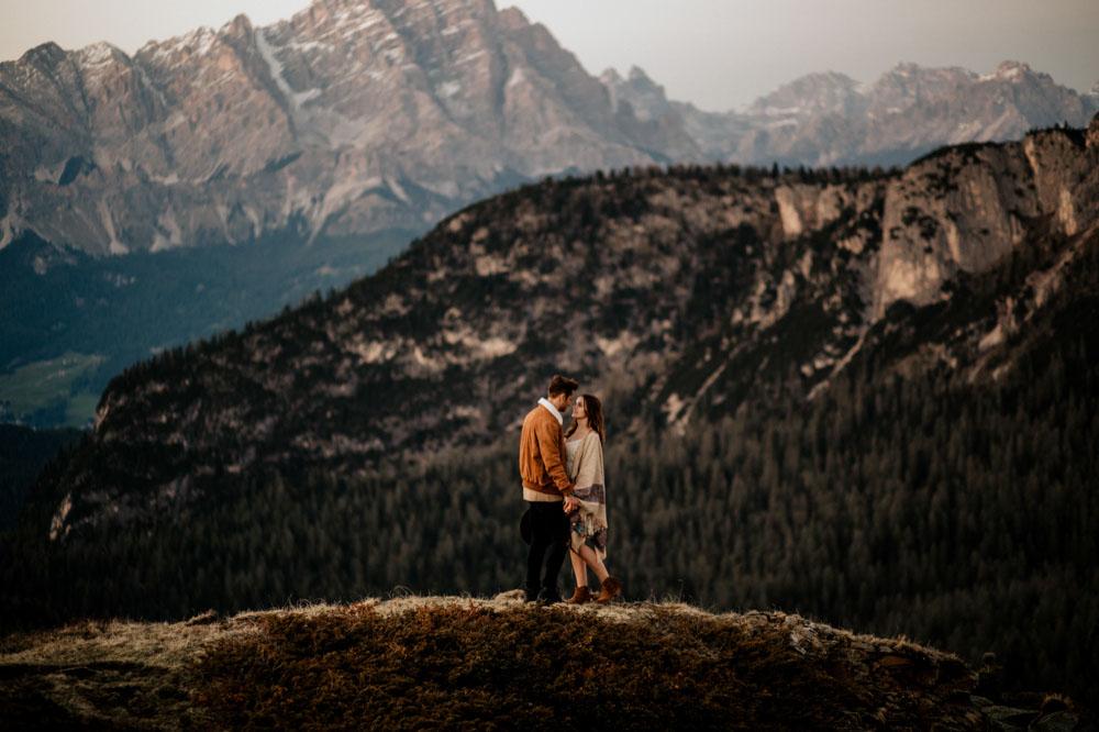 Coupleshoot Dolomiten