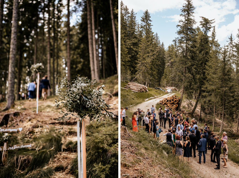 Forest Wedding Hippie Boho