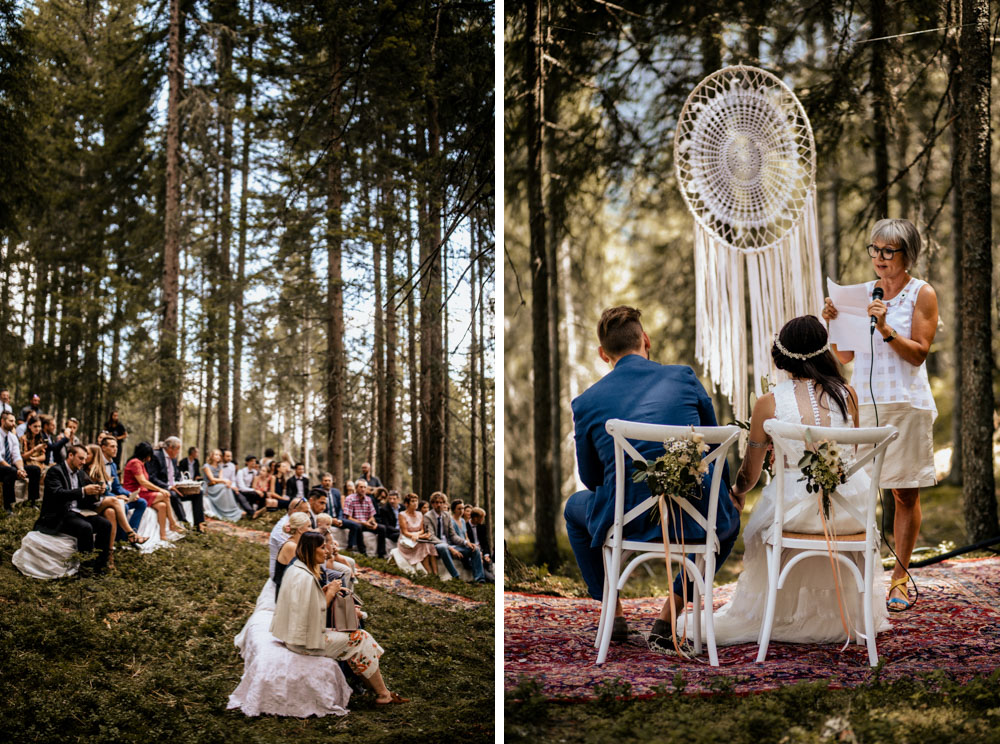 Forest Wedding Hippie