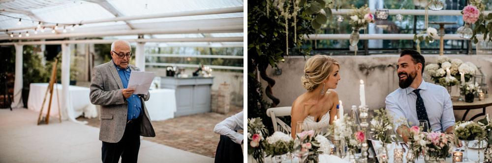 Hochzeit im Gewächshaus