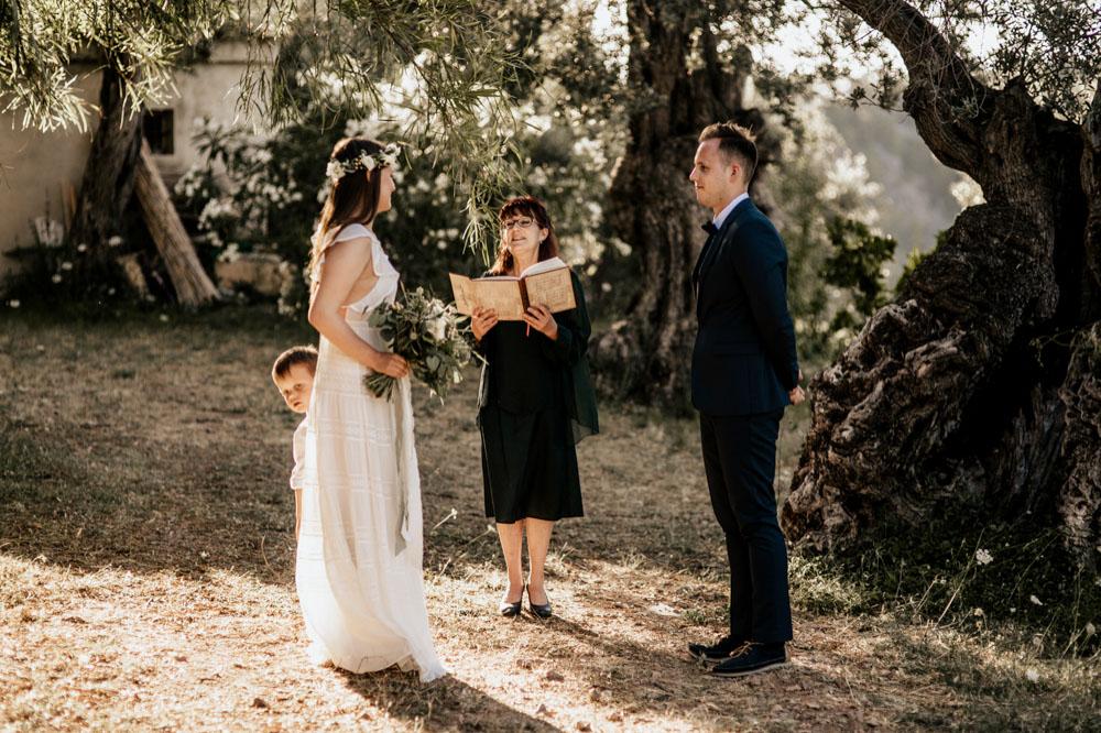 Intimate Wedding Ca's Xorc Mallorca