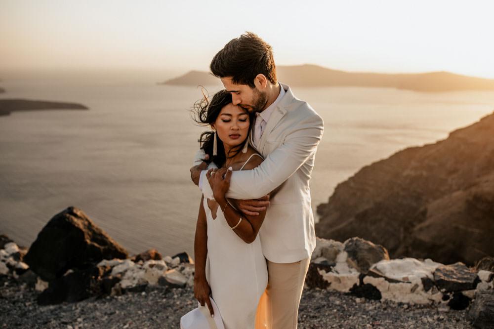 Santorini Elopement Photographer Videographer