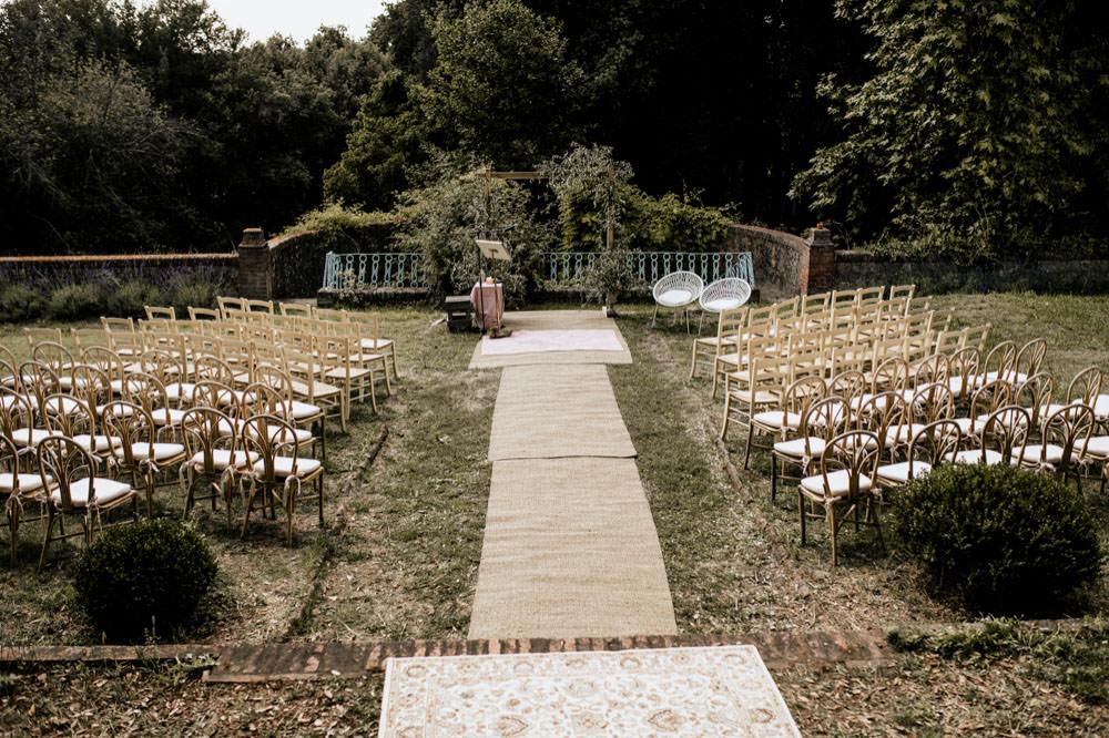 ceremony setting wedding photographer Tuscany Italy