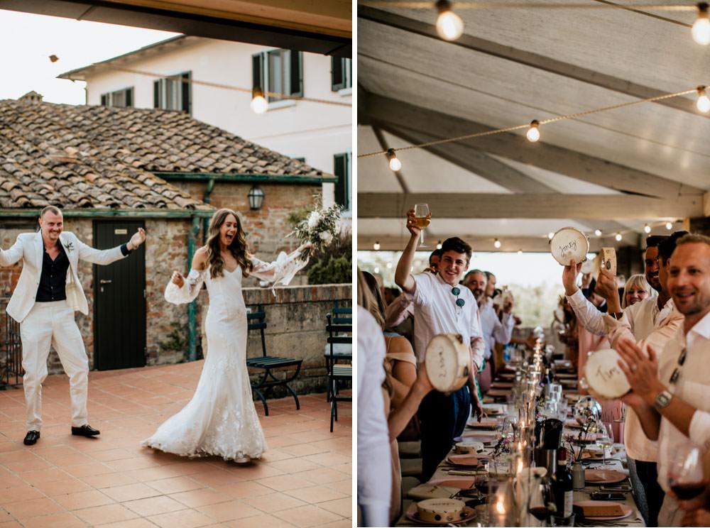 Stunning Wedding Celebration Italy