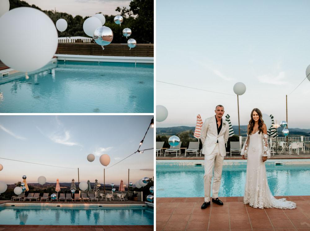 Wedding in Italy Tuscany Villa Lena