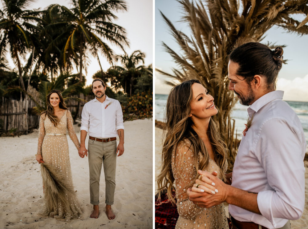 Boho Glam Wedding Tulum