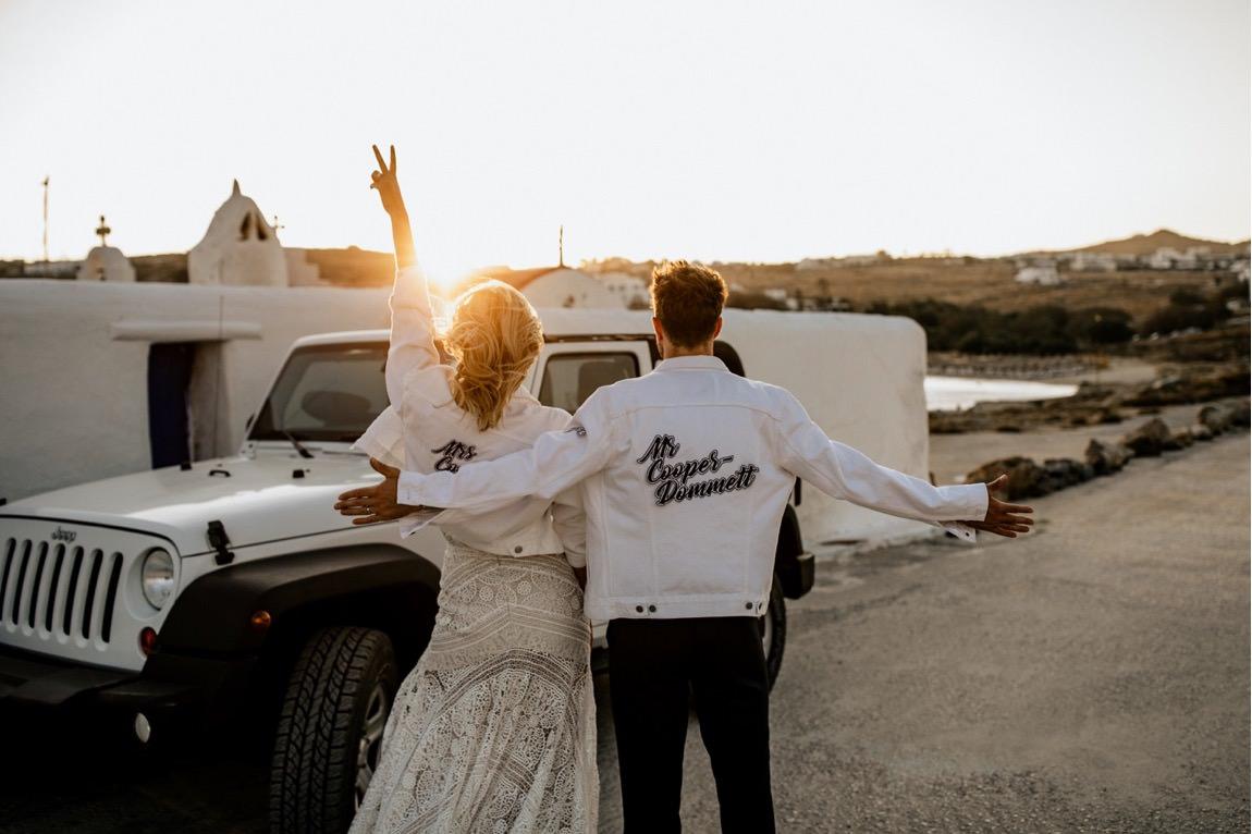 wedding photographer Mykonos intime Hochzeit Mykonos Fotograf
